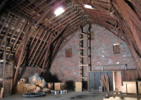 maplenol barn shawver trusses